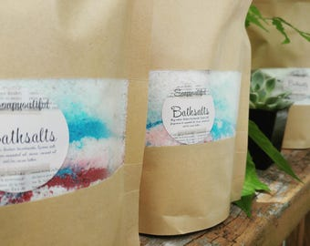 Bath salts / natural bath salts