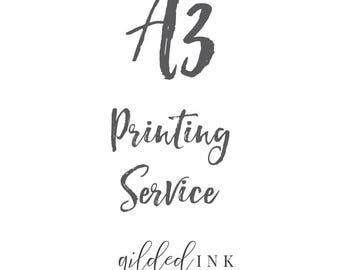 A3 Printing Service