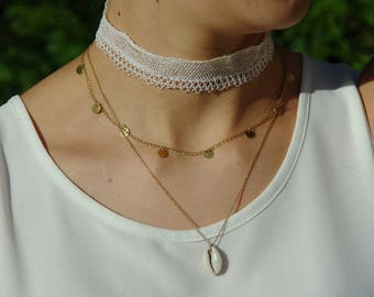 RAS neck lace choker