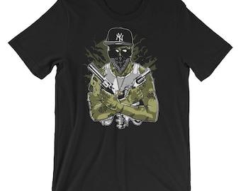 Gangsta Zombie Short-Sleeve Unisex T-Shirt