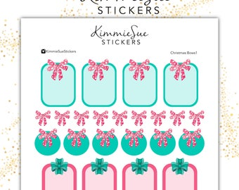Printable Planner Stickers | Functional Kit | Christmas Stickers | Holiday Stickers TN Stickers | Erin Condren Planner | PDF Trace Files |