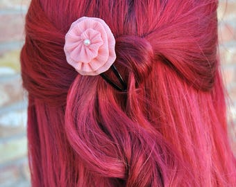 Flower Barrettes Set