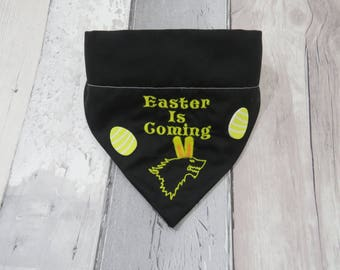 Game of Thrones Easter is Coming Spring Dog Bandana, dog accessories, slip on bandana, pet accessories, detachable bandana, collar accessory