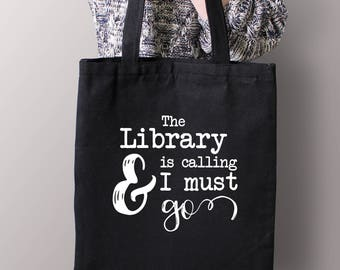 Book Lover Gift, Librarian Gift, Bookish Bag, Bookish Gifts, Reader Gift, Bookworm for Her, Book Lover Tote Bag, Librarian Gift, Bookstagram