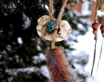 Tribal Bohemian Vertebra Ornament