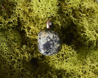 Green Gabbro Necklace