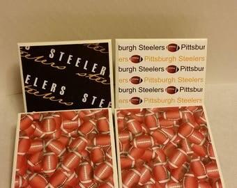 Pittsburgh Steelers football set of 4 ceramic coasters