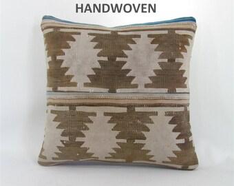 bohemian pillow kilim pillow boho decor boho pillow cover tribal pillow decorative pillows home decor pillows 001070