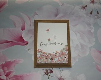 Congratulations - Wedding Card