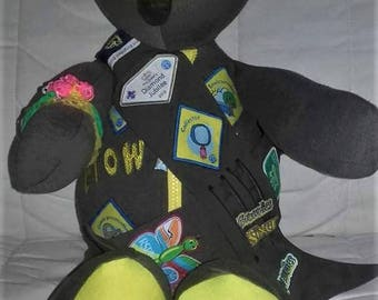 Brownie/girl guiding/cubs/scouts memory bears