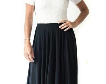Mariela flowey dress with SEQUIN top