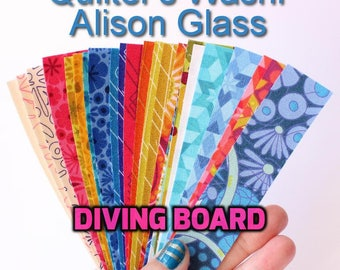 24 Quilter's Washi Tape, Diving Board, Alison Glass