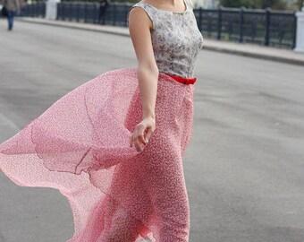 Maxi 100% silk dress Rozalina