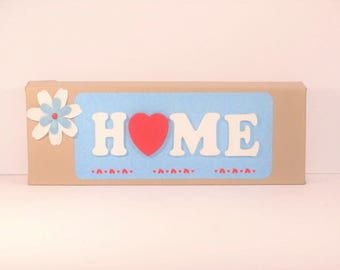 Home - Wonderful addition to a home entryway or shelf.  We can customize in YOUR colors, just ask!