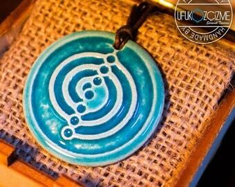 Cho Ku Rei / Handmade Ceramic Pendant