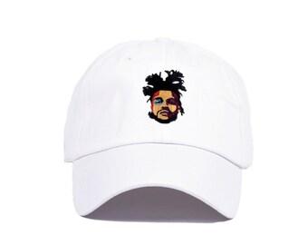 The Weeknd Hat Starboy Stargirl Cross Pin Hat