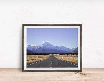 SALE - Roads Print, Roads Wall Art, Roads Decor, Roads Printable, Roads Art, Printable Wall Art - Instant Download