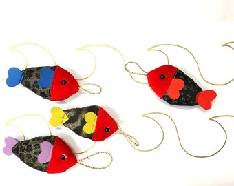 the fish Christmas ball decoration