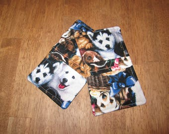 Micro Pot Holders - Dogs
