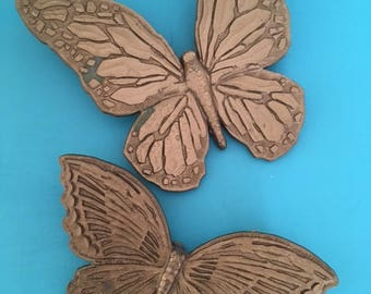 Vintage 1960's Mid Century Modern Syrocco Butterfly Wall Art
