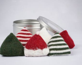 Santa Hat Pattern Weights
