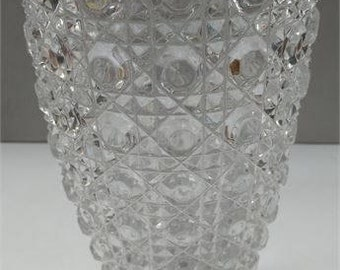 Vintage Leaded Crystal Vase