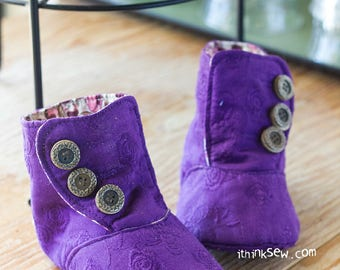 879 Perry Boots PDF Sewing Pattern