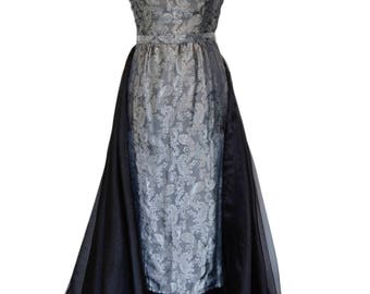 Paisley Evening Gown