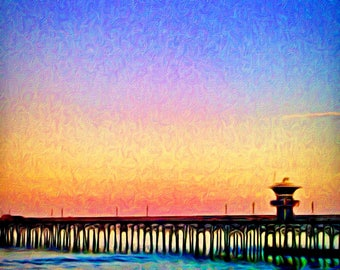 Evening Glow (Artisan-Quality Canvas Print)