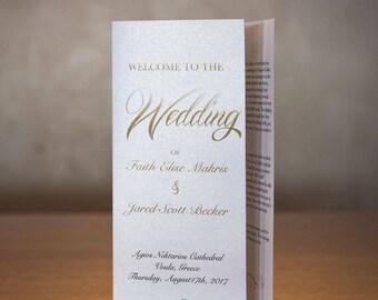 Wedding Program | Trifold