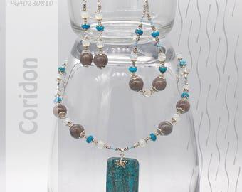 Jewelry Set | Necklace, Bracelet, Earrings | Coridon PG40230810