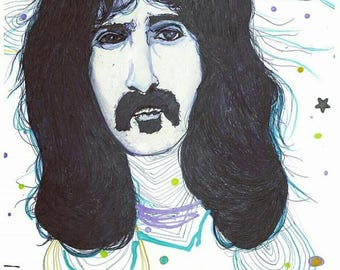 Frank Zappa #2 Print