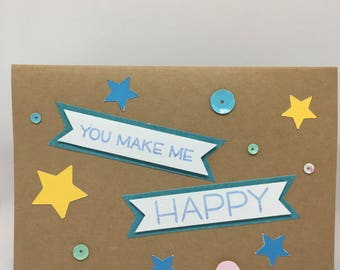 You Make Me Happy (Birthday Card)