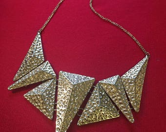Edgy Spiked Necklace