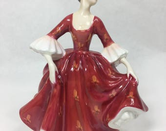 Vintage Royal Doulton - Stephanie Bone China Porcelain Figurine HN2811