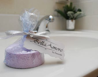 Apple Sage Glitter Bath Bomb - 3oz