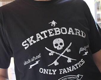 T-Shirt SKATE/Black
