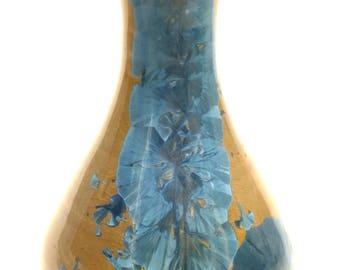 Crystalline Glaze Ceramic Bottle