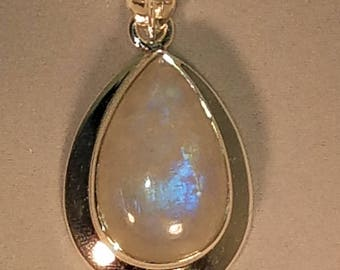 Moonstone in Sterling Silver