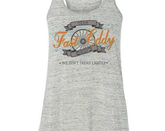 Fundraising for Multiple Sclerosis - Women's Racerback - Team Fast Eddy 2017 Best Dam Bike Tour 150 Bicycle Ride