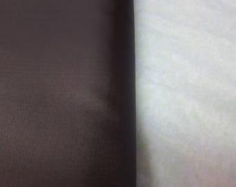 Lining dark brown 100% polyester 150 cm from 10 cm width
