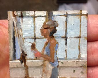 student 01 oil painting