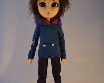 Blue Taeyang sweater set