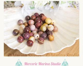 5 beads mookaite 10mm natural Jasper - reiki - chakra