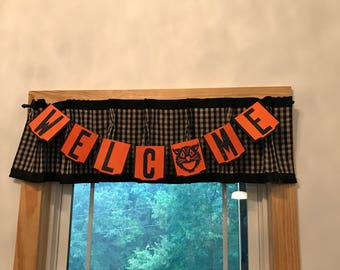 Scaredy Cat Welcome Banner