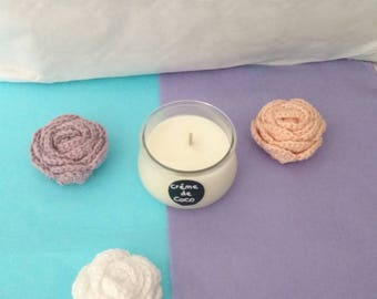 70g scented Coconut cream soy wax candle