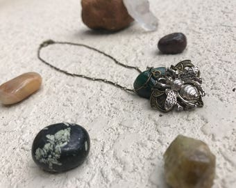Eutierria Reiki Infused Bee Necklace