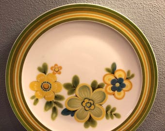 Vintage Noritake China Chestnuthill 7045 Dinner Plates/Japan - Set of 4
