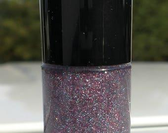 Rainbows & Unicorns nail polish top coat indie Holo glitter purple pink green blue