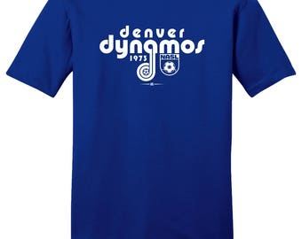 Denver Dynamos 1973 NASL Soccer Tee Shirt